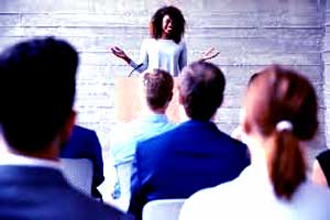successful motivational speaker