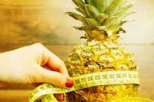 Pineapple helps in weight loss